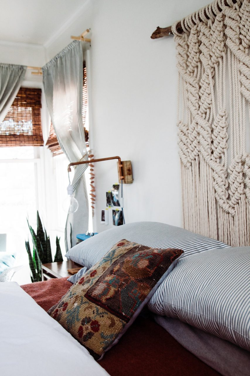 The Perks Of Decorating Slowly Palmers Neutral Boho Bedroom