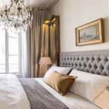 The Romantic Bedroom Of The Castillon Apartment With Old World