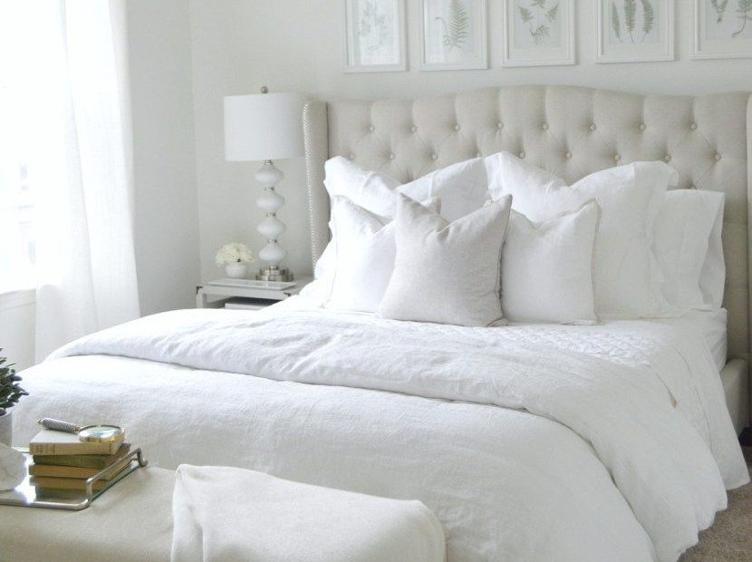 The Ultimate White Bedroom Master Bedroom Apartment Bedroom