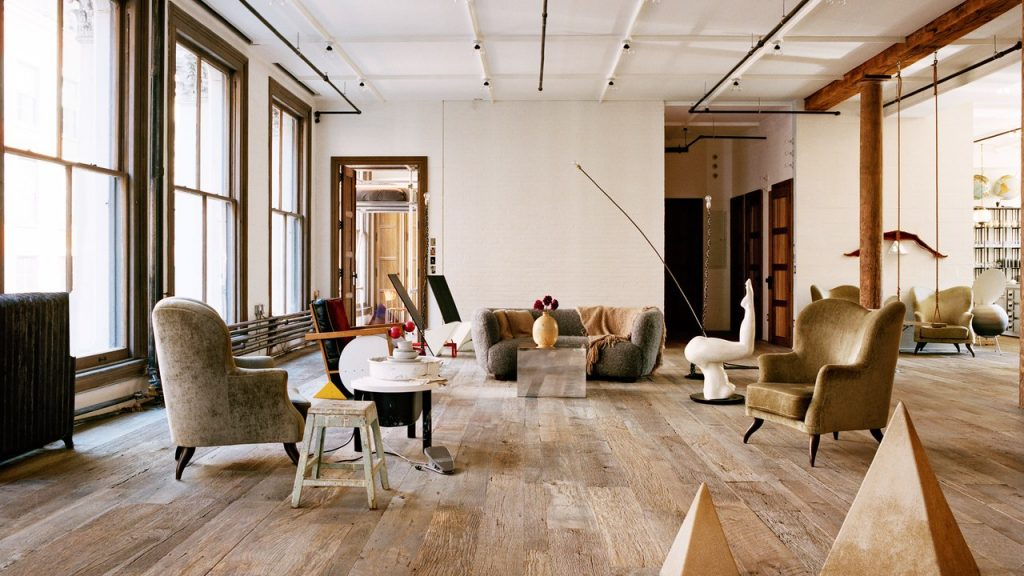 This Minimalist Manhattan Apartment Is Full Of Hidden Fun