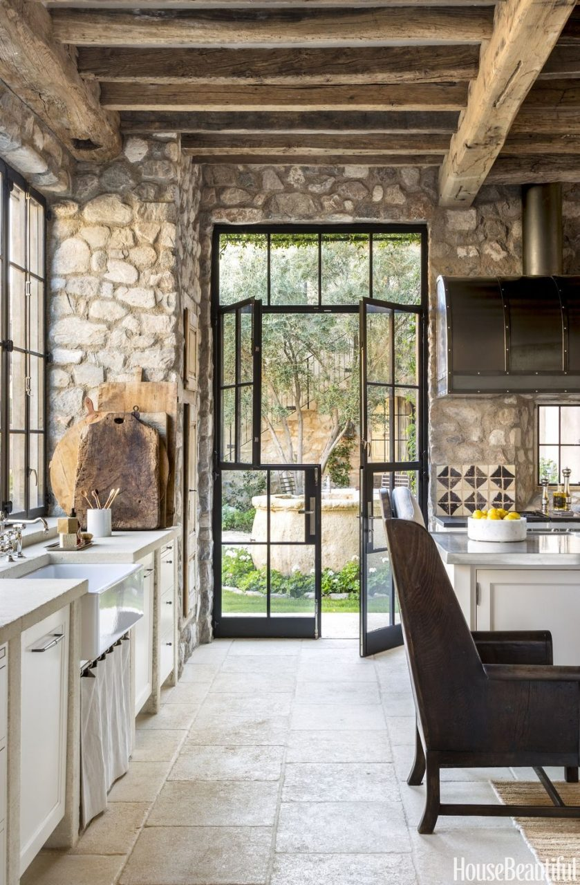 This Rustic Arizona Kitchen Feels Like A French Countryside Vacation