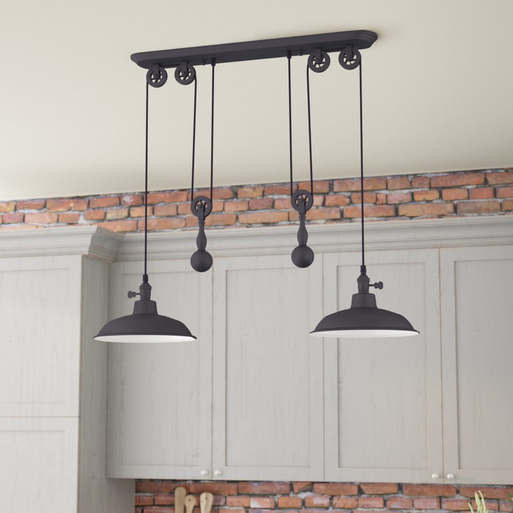 Trent Austin Design Ariel 2 Light Kitchen Island Pendant Reviews