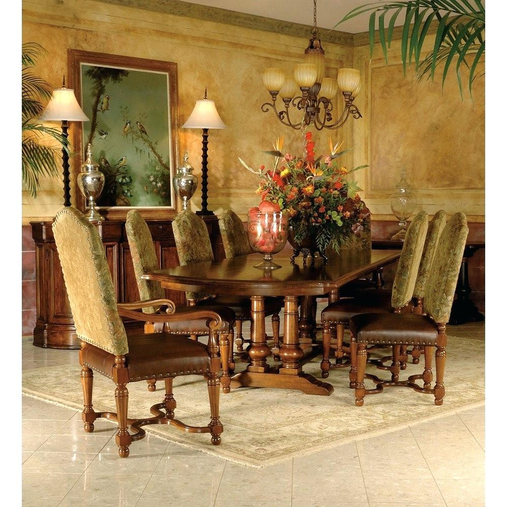Tuscan Inspired Living Room Estates Dining Room Set Tuscan Style