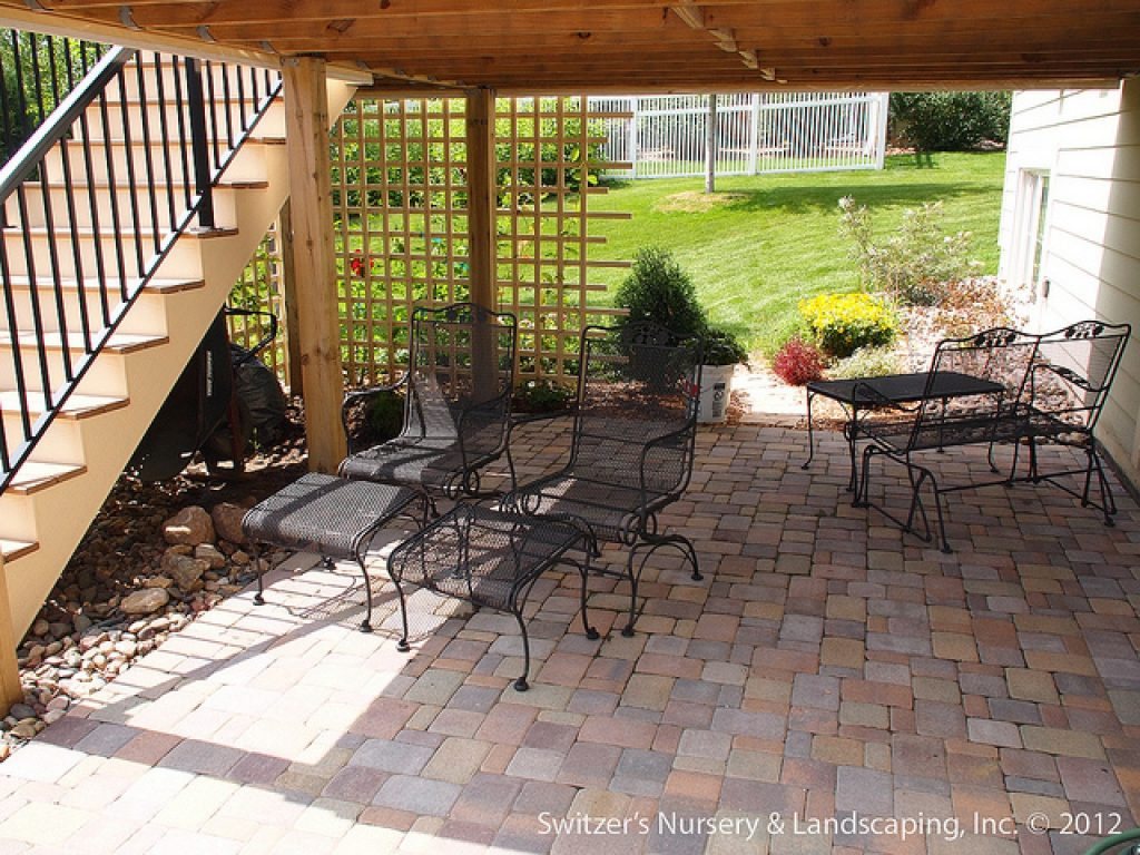 Under Deck Patio Designs Under Deck Patio Design Ideas Under Deck