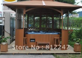 Outdoor Hot Tub Gazebo