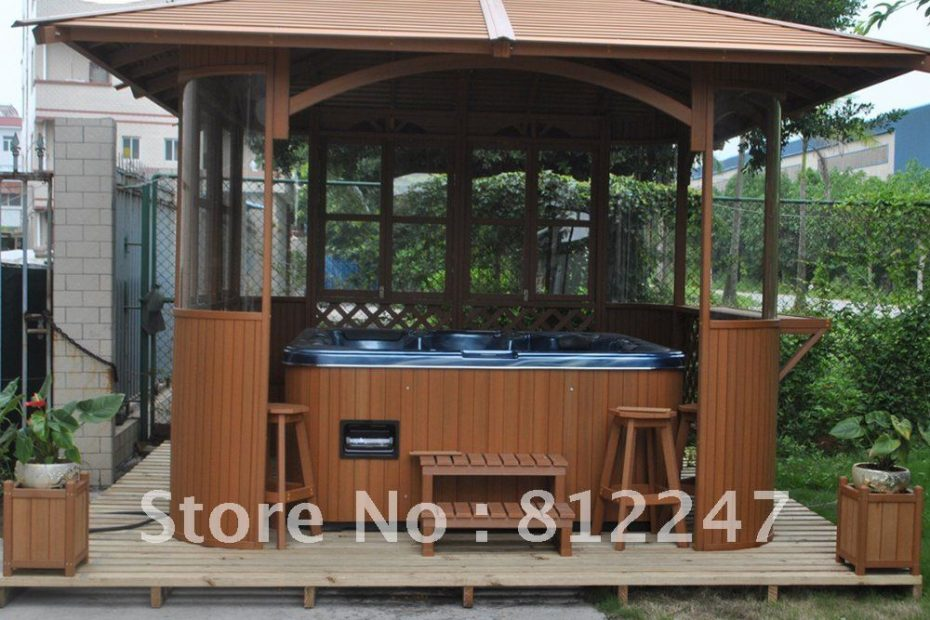 Us 16500 Outdoor Spa House Hot Tub Outdoor Wooden Gazebos In Gazebos From Home Garden On Aliexpress Alibaba Group