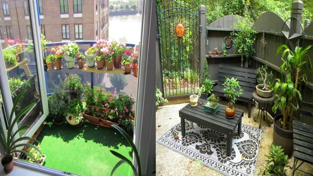 Very Small Patio Decorating Ideas Small Apartment Patio Ideas Youtube