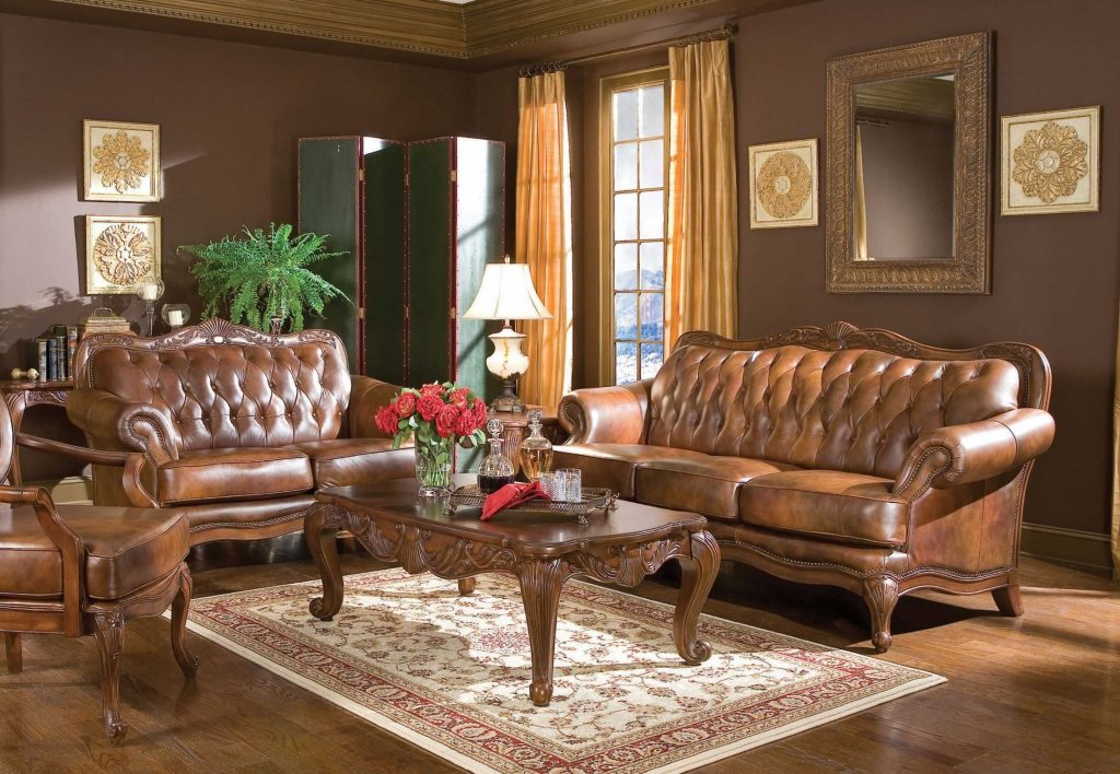 Victoria Living Room Set 50068 From Coaster 50068 Coleman