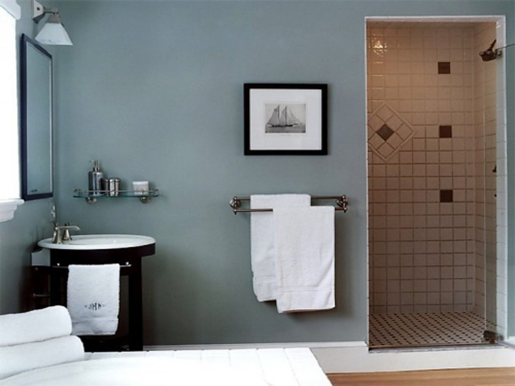 Wall Paint Color Schemes Best Blue Paint For Bathroom Blue Bathroom