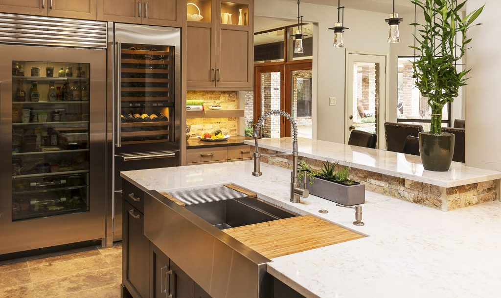 We Love The Look Of This Custom Galley Ideal Workstation Iws 4
