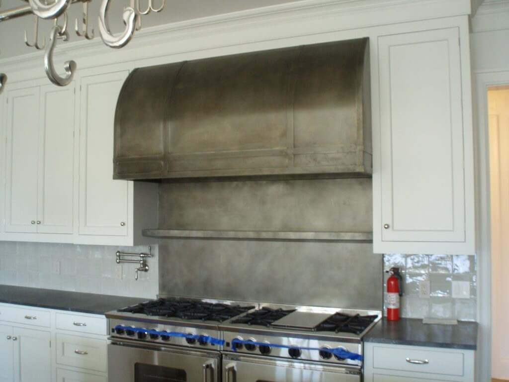 Zinc Range Hoods Brooks Custom