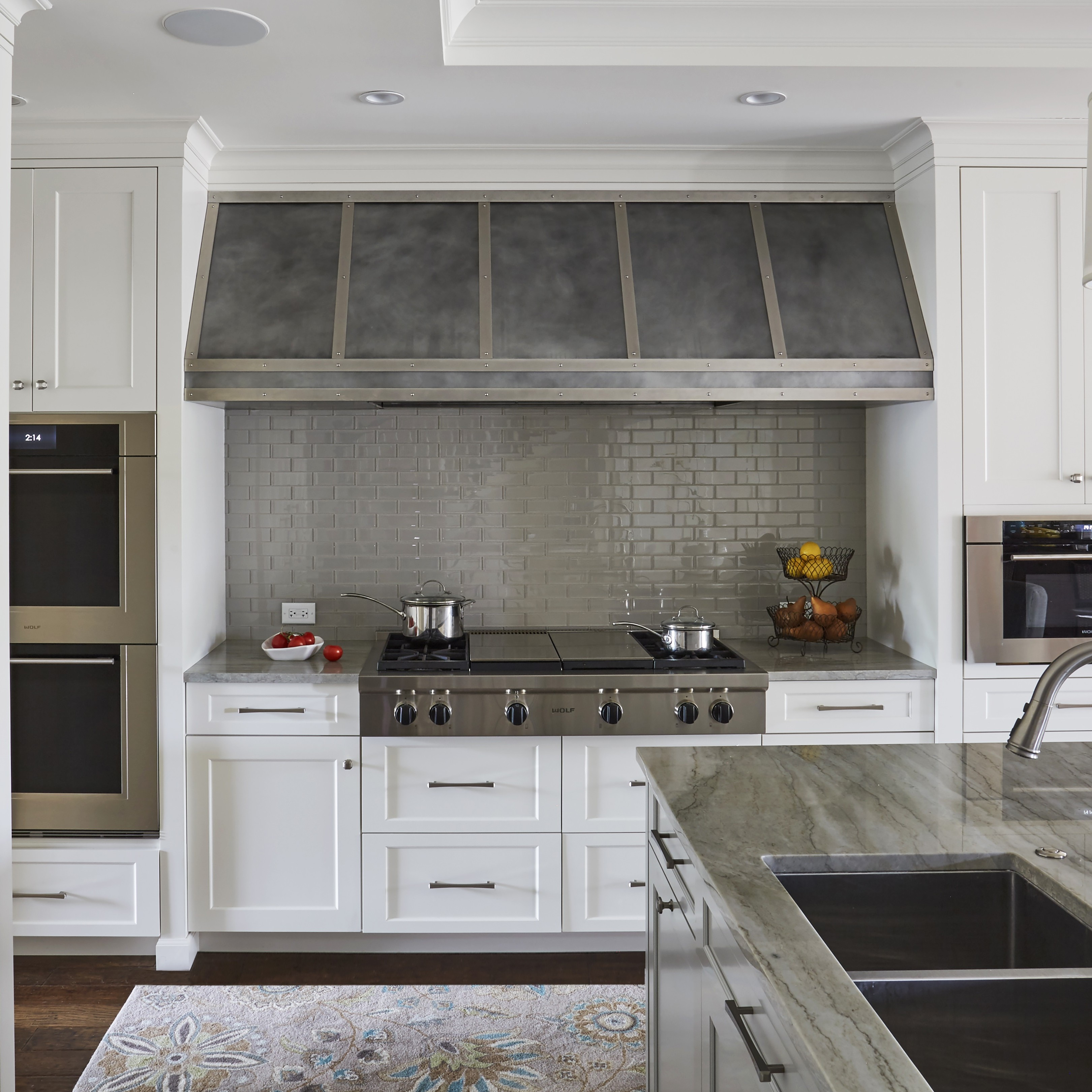 Zinc Range Hoods Custom Metal Home