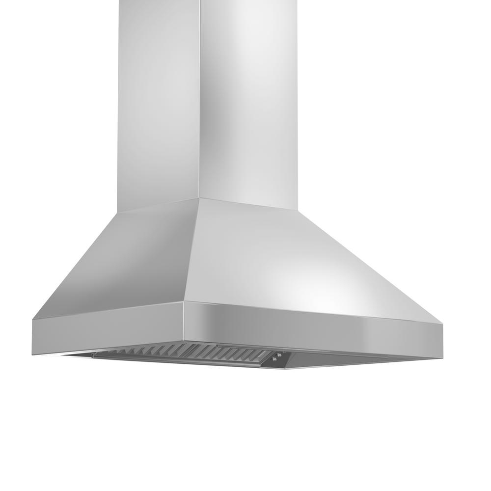 Zline Kitchen And Bath 30 In Convertible Wall Mount Range Hood In