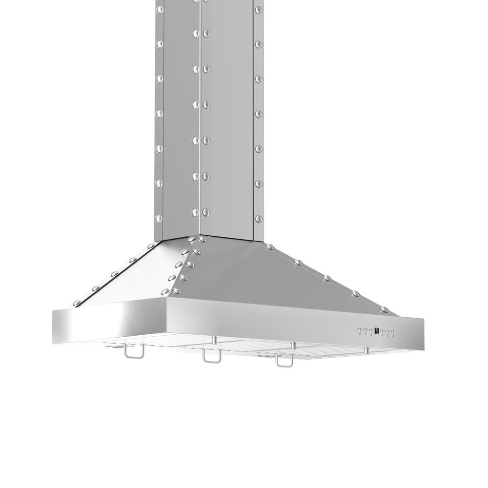 Zline Kitchen And Bath Zline 36 In 760 Cfm Wall Mount Range Hood In