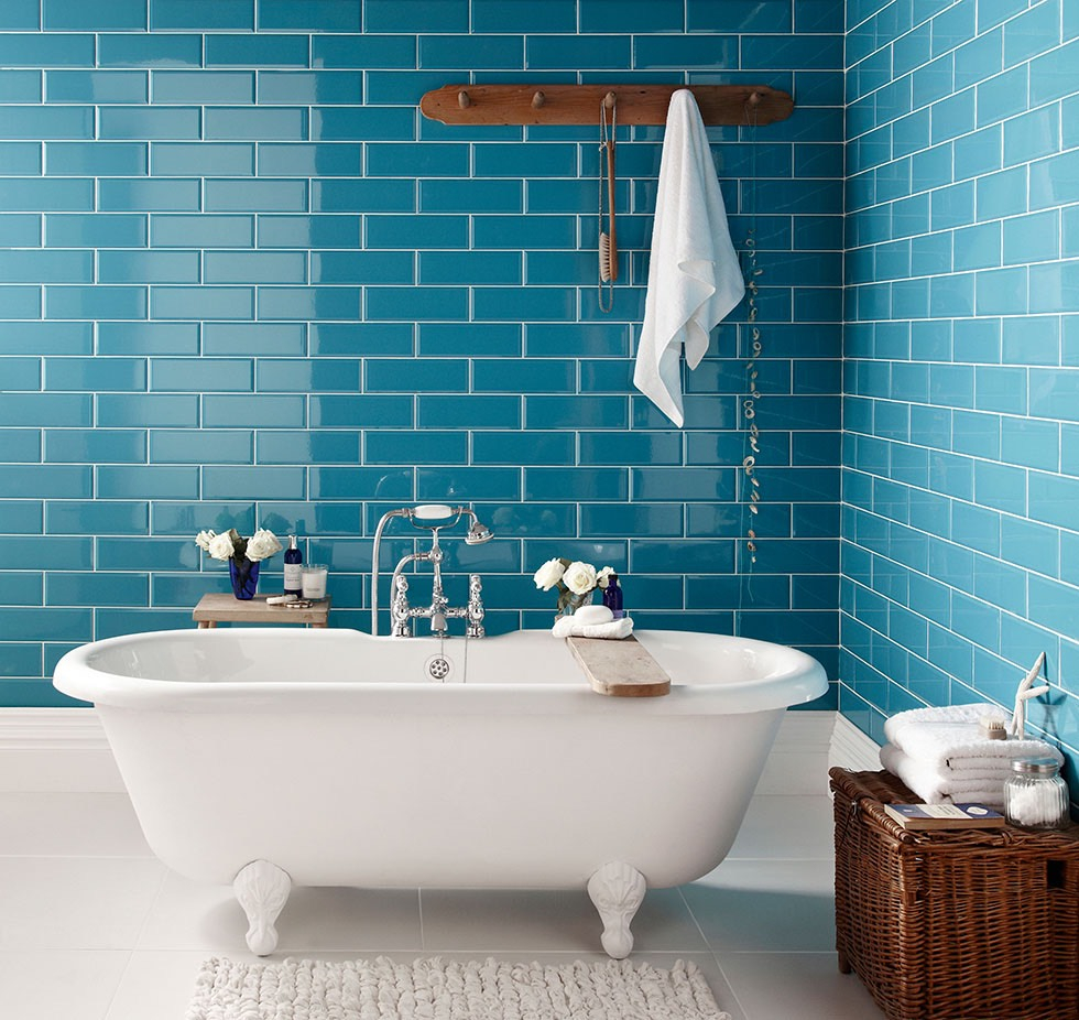 10 Bathroom Tile Ideas For The Neutral Lover And For The Color Fanatic