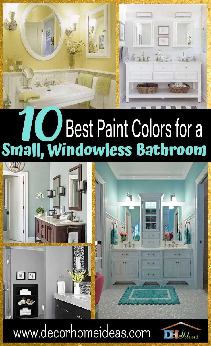 10 Best Paint Colors For Small Bathroom With No Windows Home Decor