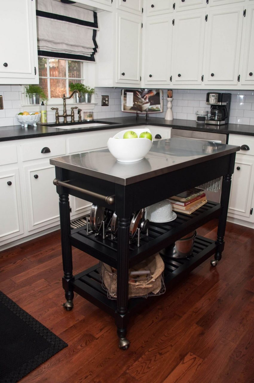 10 Types Of Small Kitchen Islands Carts On Wheels 2019