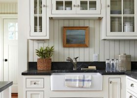 White Farmhouse Kitchens Pinterest