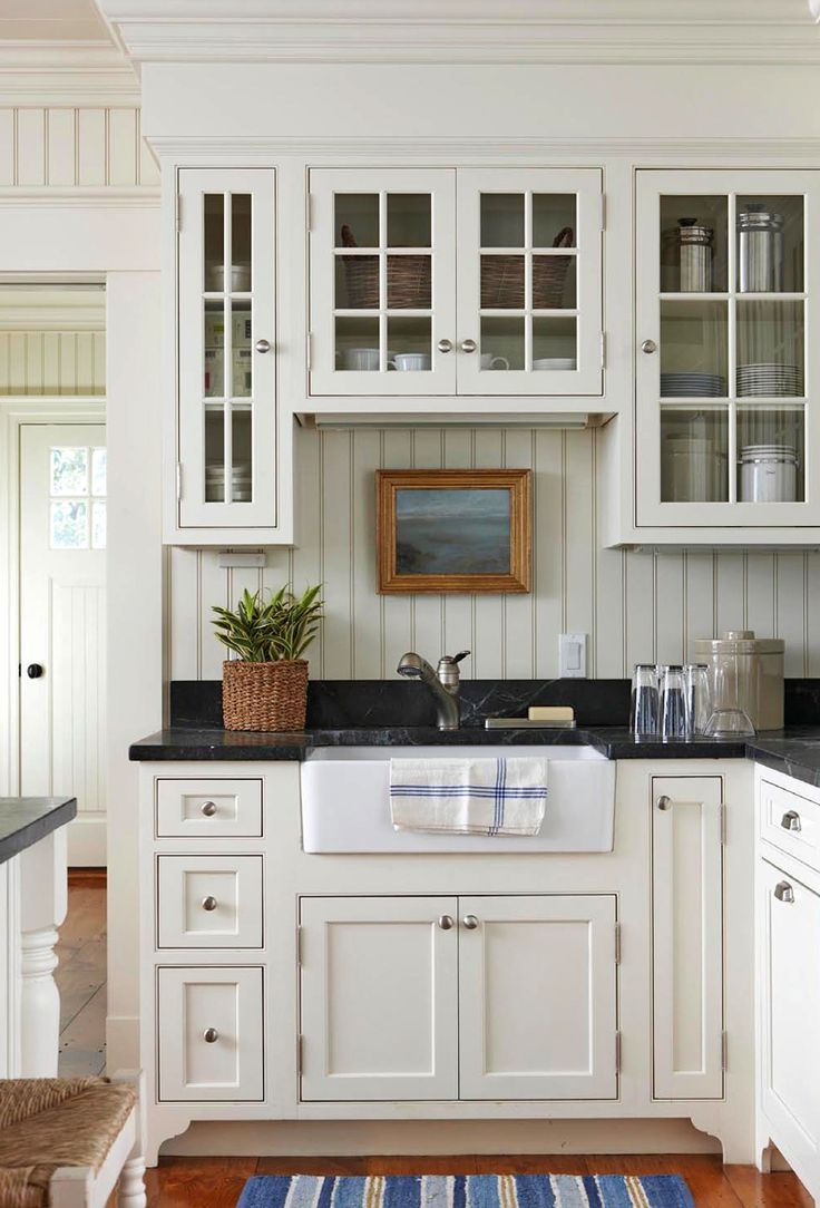 1000 Ideas About White Farmhouse Kitchens On Pinterest Dream House