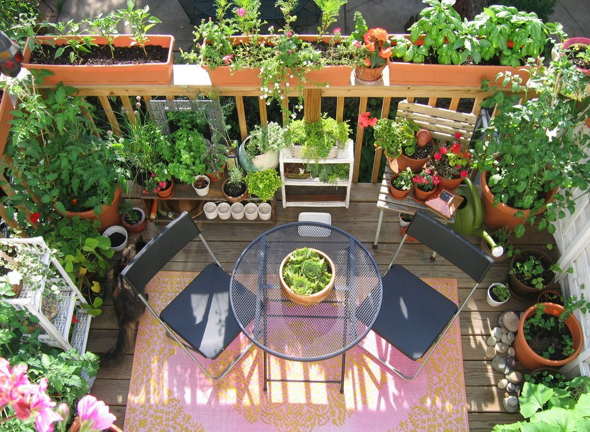 11 Deck Vegetable Garden Ideas To Grow More In Less Space Balcony