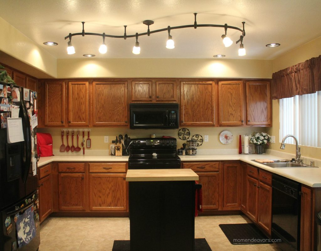 11 Stunning Photos Of Kitchen Track Lighting Home Decor Kitchen