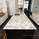 Valley White Granite with Cabinets