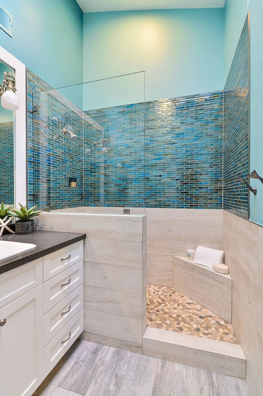 120 Colorfull Bathroom Remodel Ideas Bathroom Updates Beach