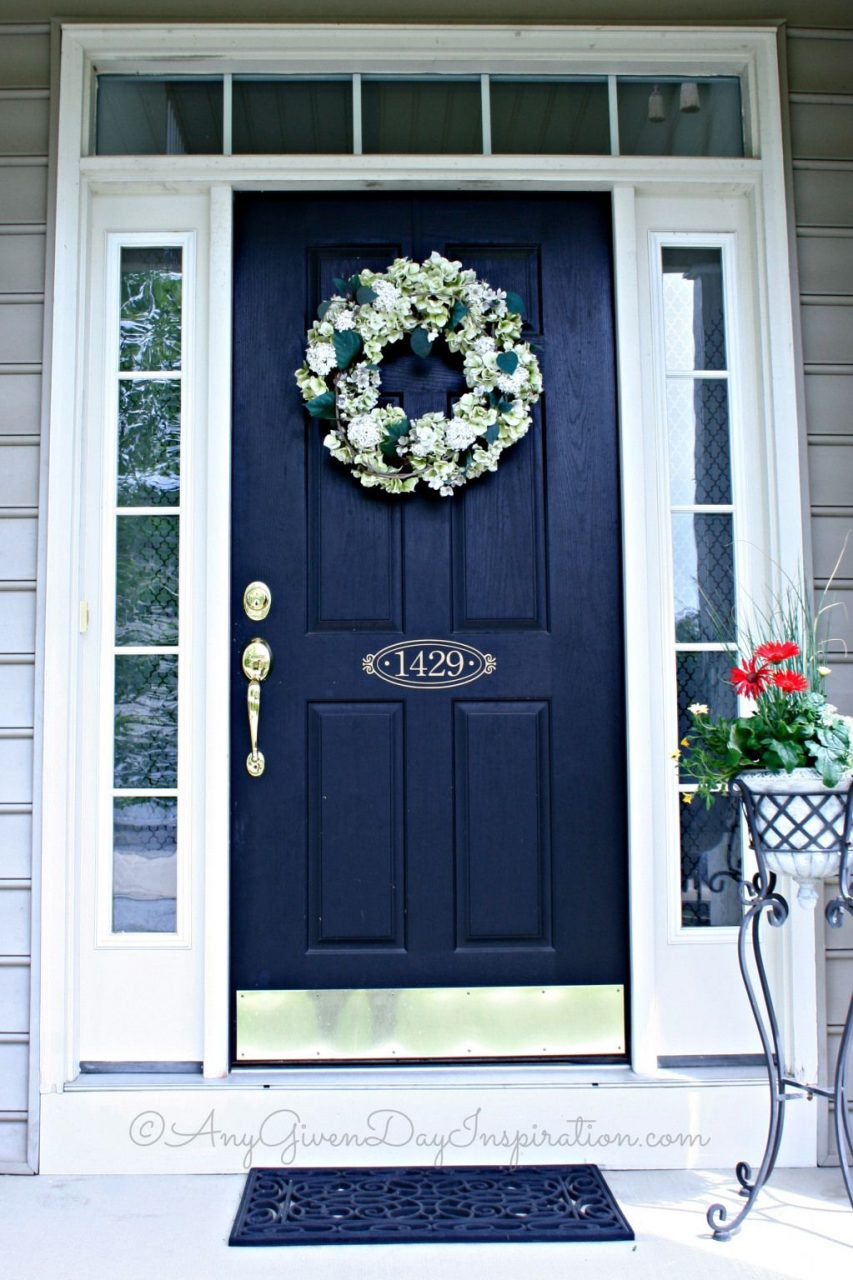 15 Shades Of Blue Front Door Designs To Pretty Up Your Home Shut