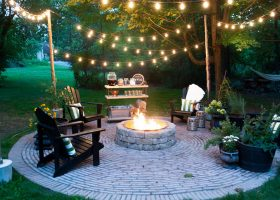 Patio Lights String Ideas