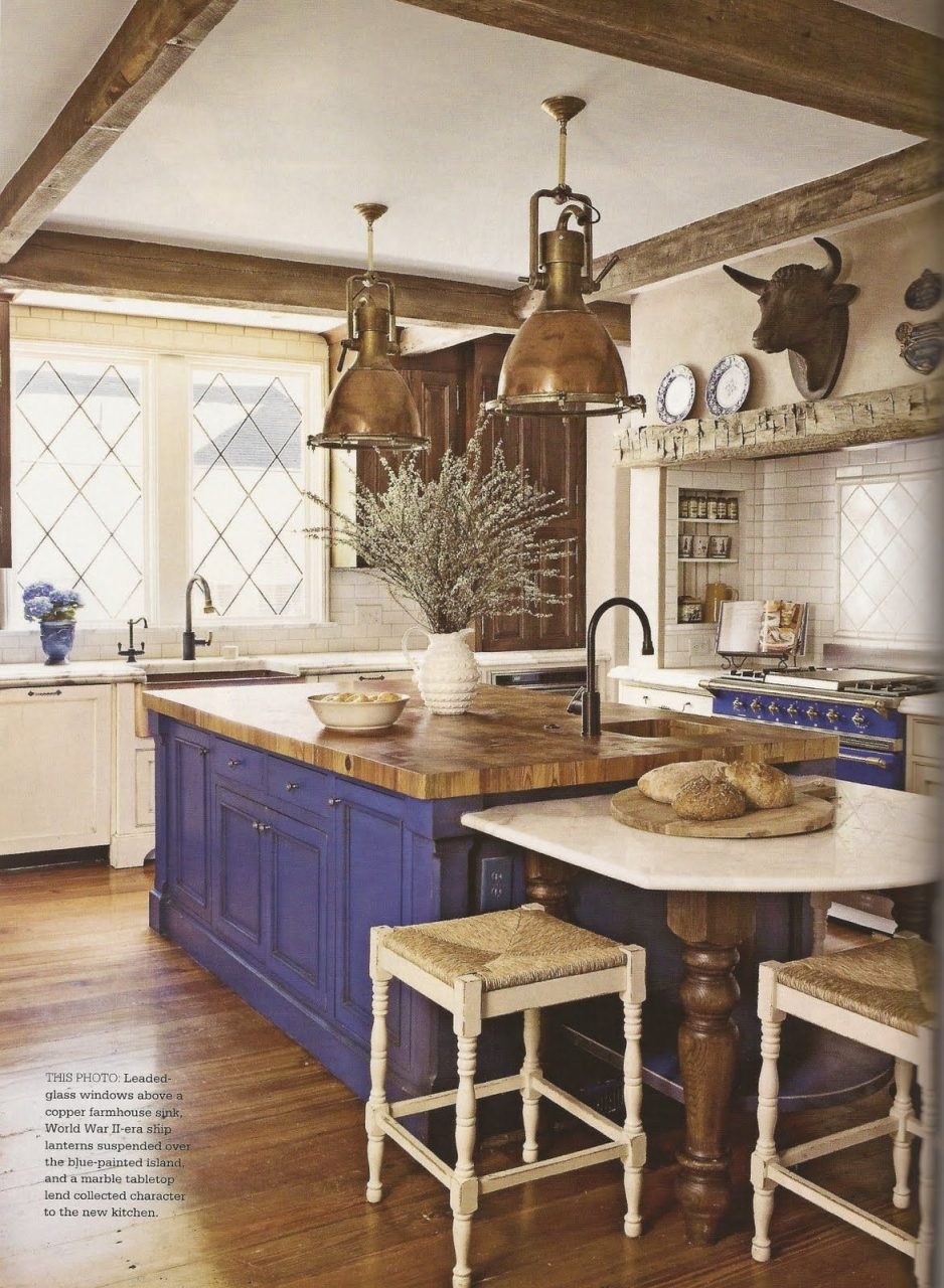 20 Magnificent French Country Kitchen Designs Kitchens The