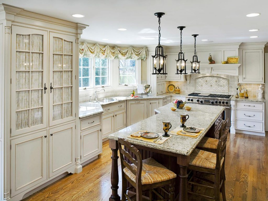 20 Top French Country Kitchen Foucaultdesign Intended For Beautiful