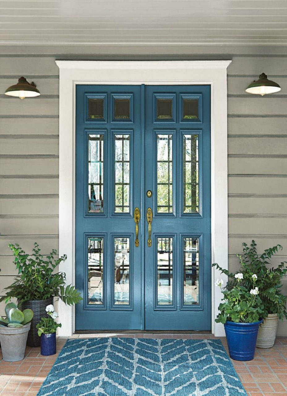 2019 Colors Of The Year Paint Colors Blue House Paint Exterior