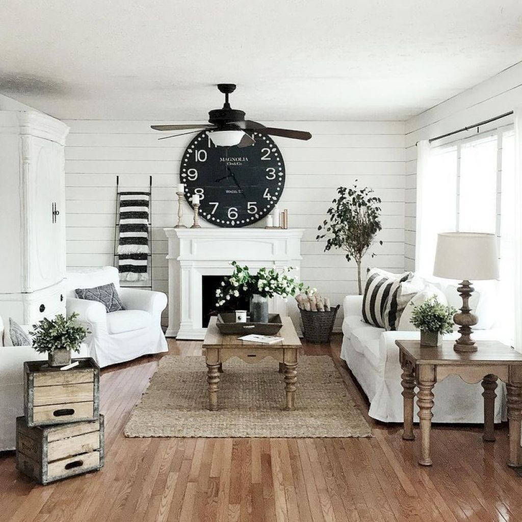 24 Cozy Rustic Farmhouse Living Room Decor Ideas Homegarden