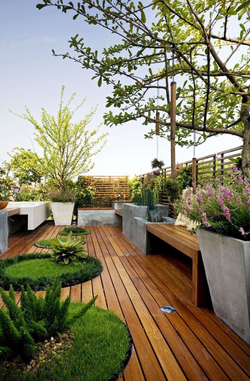 25 Beautiful Rooftop Garden Designs To Get Inspired Outdoor