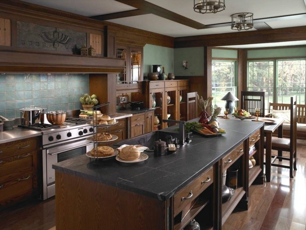 25 Stylish Craftsman Kitchen Design Ideas Kitchens Craftsman