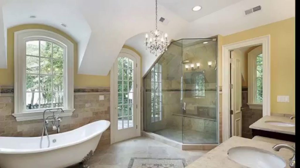 27 Beautiful Bathroom Chandeliers In Luxury Master Suites Youtube