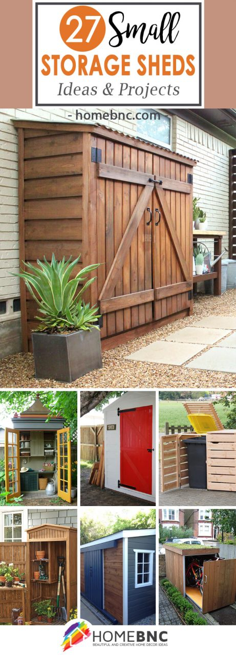 27 Best Small Storage Shed Projects Ideas And Designs For 2019