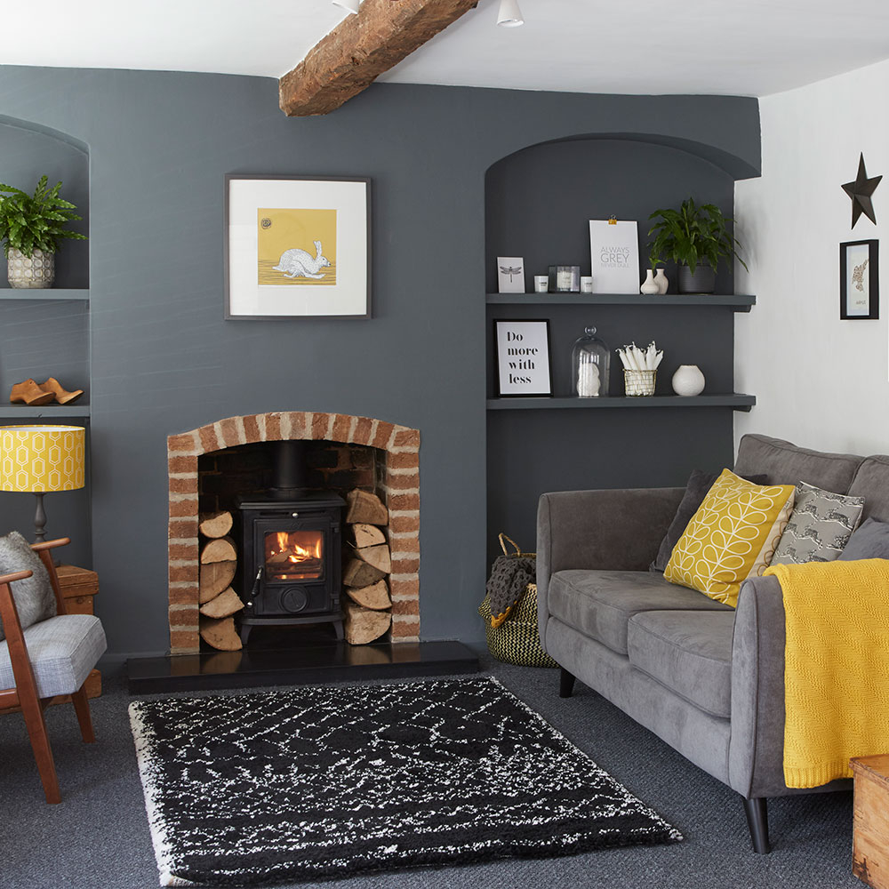 27 Black White And Grey Living Room Ideas Black White And Grey