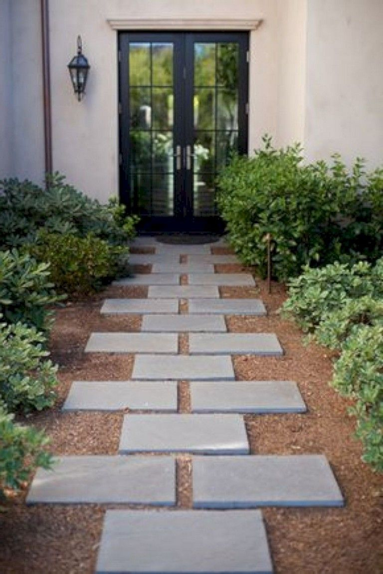 28 Best Backyard Stepping Stone Walkway Ideas For Your Garden