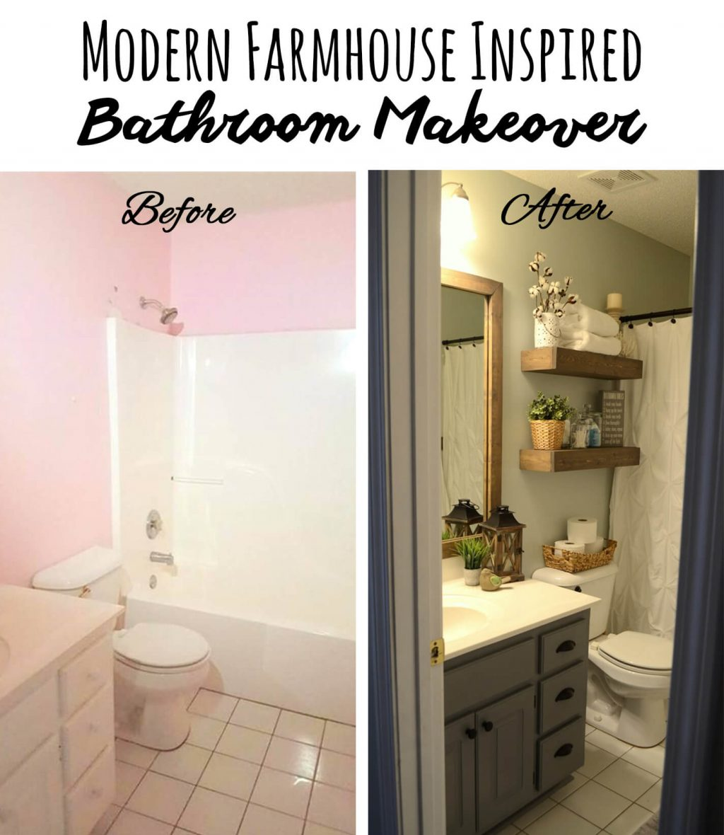 28 Best Budget Friendly Bathroom Makeover Ideas And Designs For 2019