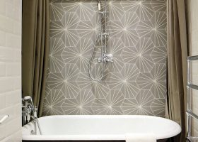 Creative Bathroom Tile Design Ideas