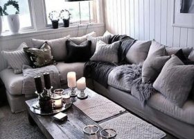 Black White Grey Living Room Ideas