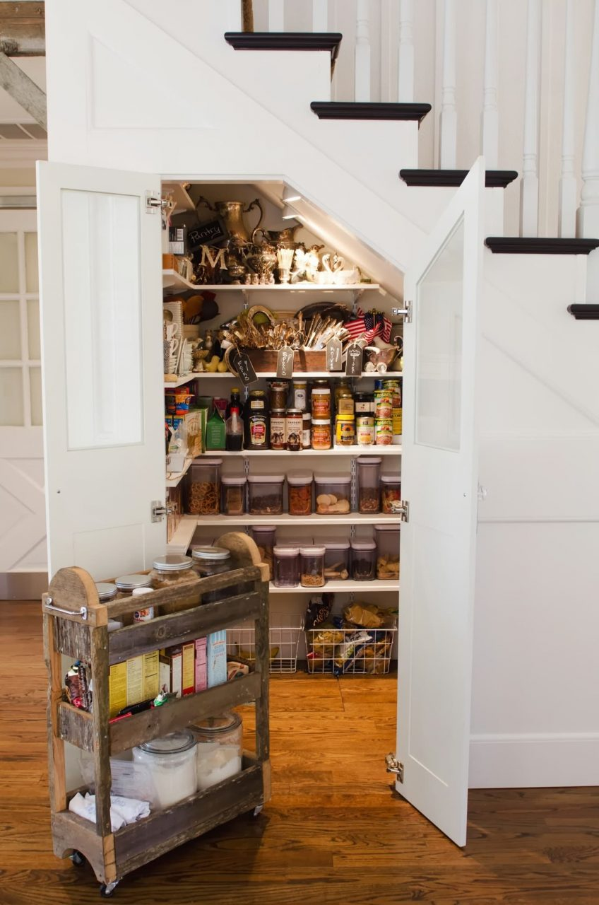 3 Ideas To Steal From This Under The Stairs Pantry Kitchn