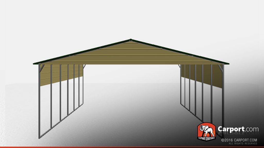 30 X 40 Top Quality Boxed Eave Car Port Shop Metal Buildings Online
