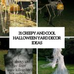 Outdoor Halloween Yard Decorations Ideas