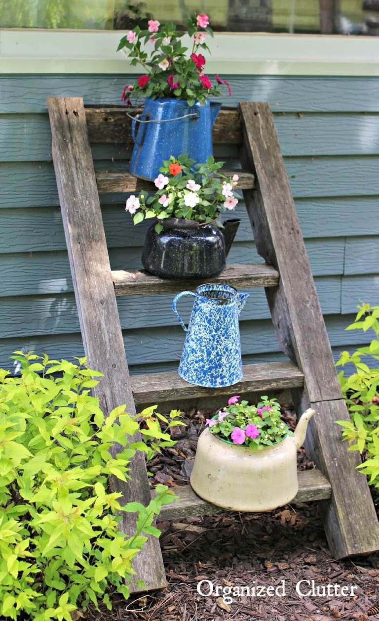 33 Most Beautiful Vintage Garden Decor Ideas Cabin Vintage