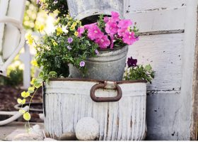 Outdoor Flower Garden Decoration Ideas