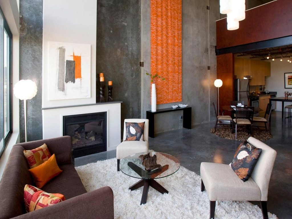 34 Professionally Decorating With Orange That Provide Comfort And