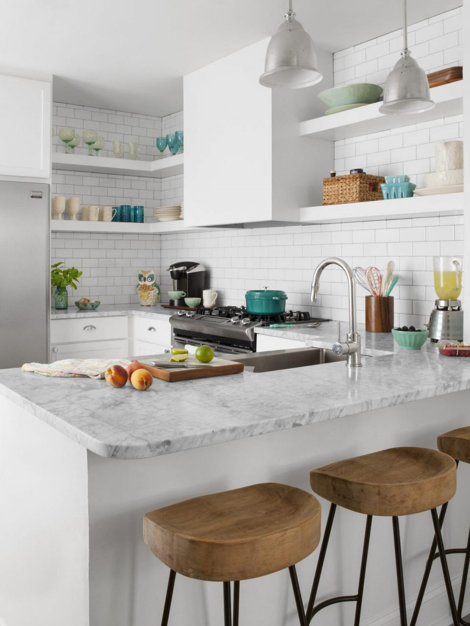 37 Best Small White Kitchen