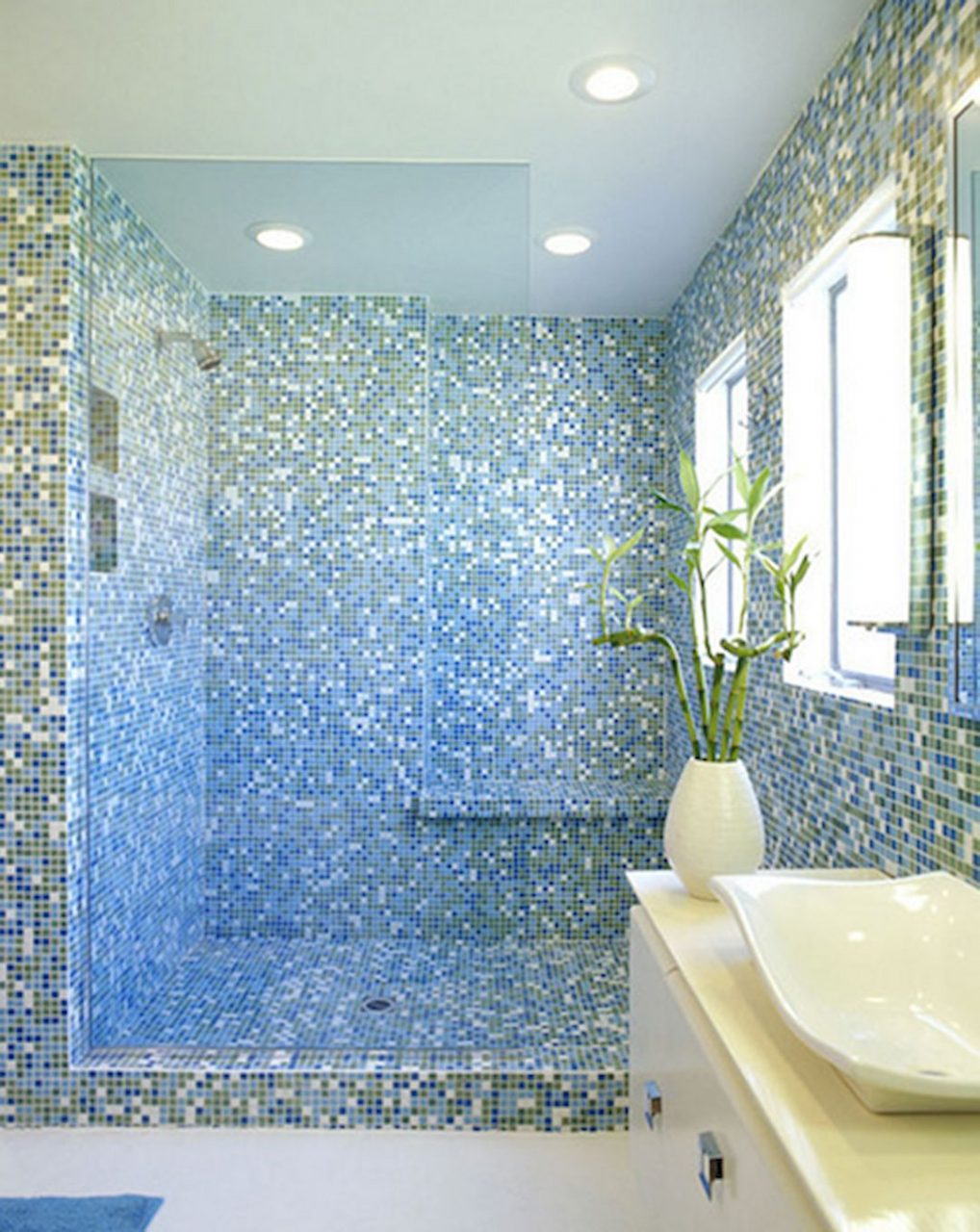 37 Cute Glass Tile Ideas For Bathroom Futurist Architecture Rose Jam